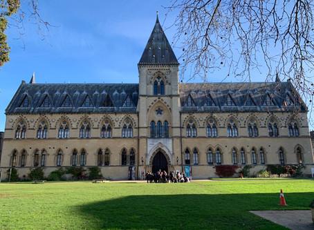 Visit to University of Oxford, January 2020