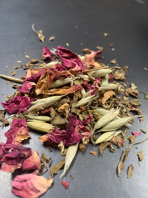 On A Bed of Tulsi & Roses 3oz