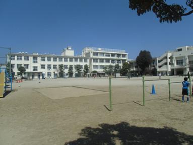 福岡市立箱崎小学校 外壁改修