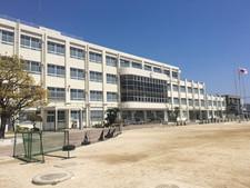 福岡市立下山門中学校 外壁改修