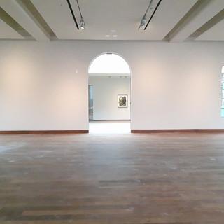 Gallery repainted