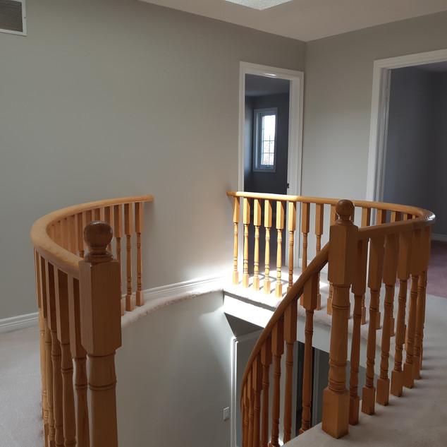 Repainted stairwell