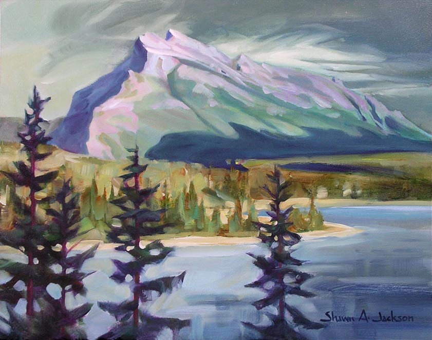 Mt Rundle, Banff National Park