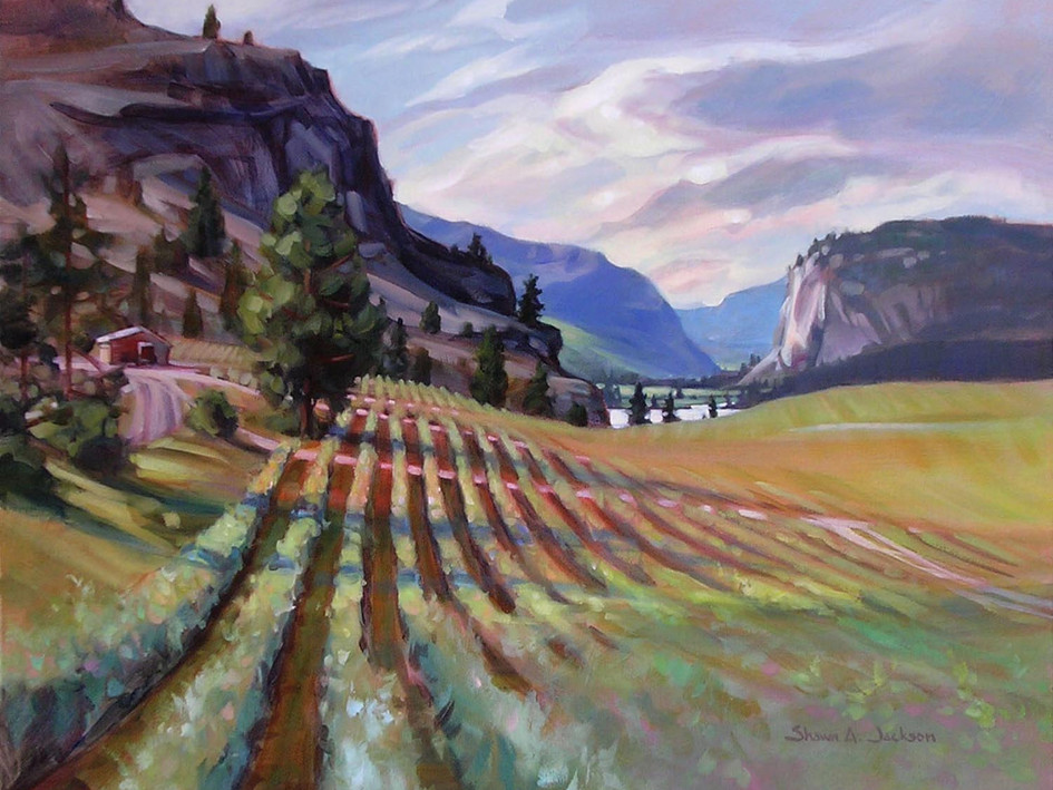 Blue Mountain Vineyard, Okanagan