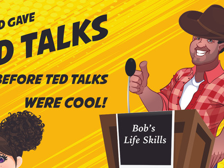 My Dad Gave Ted Talks Before Ted Talks Were Cool.