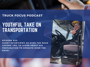 Truck Focus Podcast - Episode #25 - A Youthful Take on Transportation - Les Mann - Over The Road