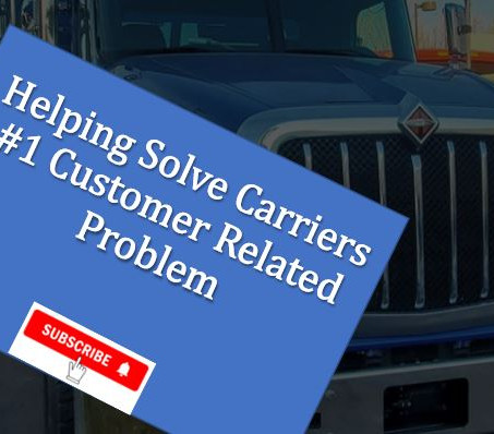 Helping Solve Carrier's #1 Customer Related Problem