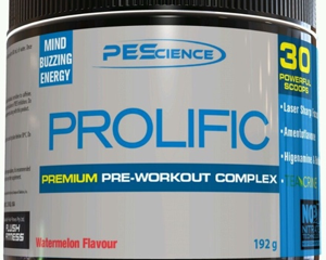SUPPLEMENT REVIEW: Prolific pre workout by PES Science