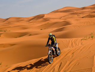 Part 2 and 3 of the Amazing Story of Andrew Houlihan on the Road to Dakar....