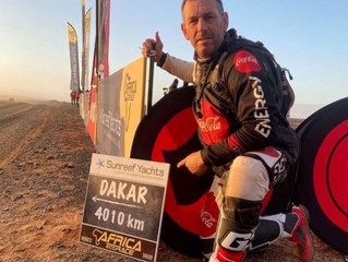 Part 4 and 5 of my incredible client, Andrew Houlihan's 'Road to Dakar' story ....