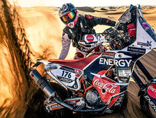 Dakar Rally Client, Andrew Houlihan will have his Nutrition and Supplements on point :)