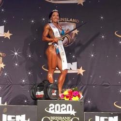 Monique Overall ICN Brisbane Figure Champion