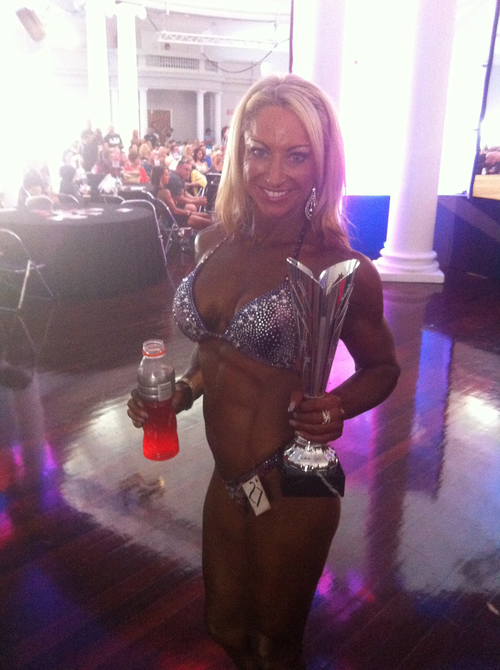 Kaz Winning IFBB Nationals