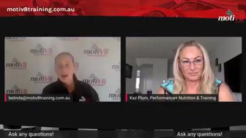 Karen Plum on body building on the Gold Coast