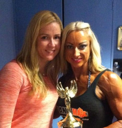 2nd Place IFBB Australasia's 2013