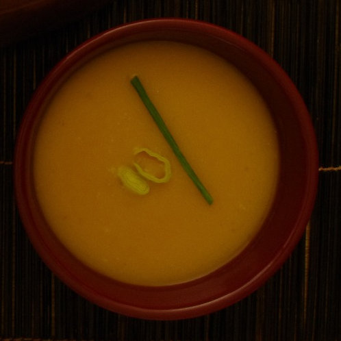 Potage courge/curry - Squash/curry soup