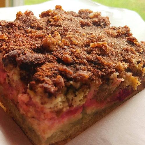 Gâteau d'oma à la rhubarbe /Oma's rhubarb cake