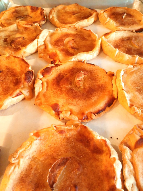 Tartelettes aux pommes - Mini apple pies