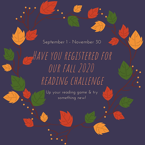 Have you registered for our fall 2020 re