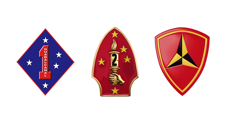 1st, 2nd, 3rd mar div logos w glows.png