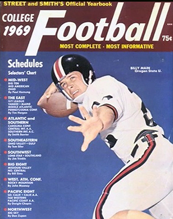 Bill Main on cover of 1969 edition of St