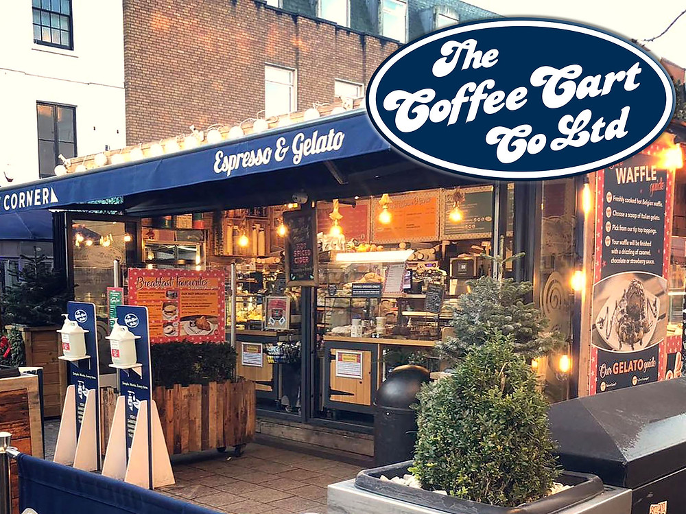 Open air Coffee Cart outlet in Hereford