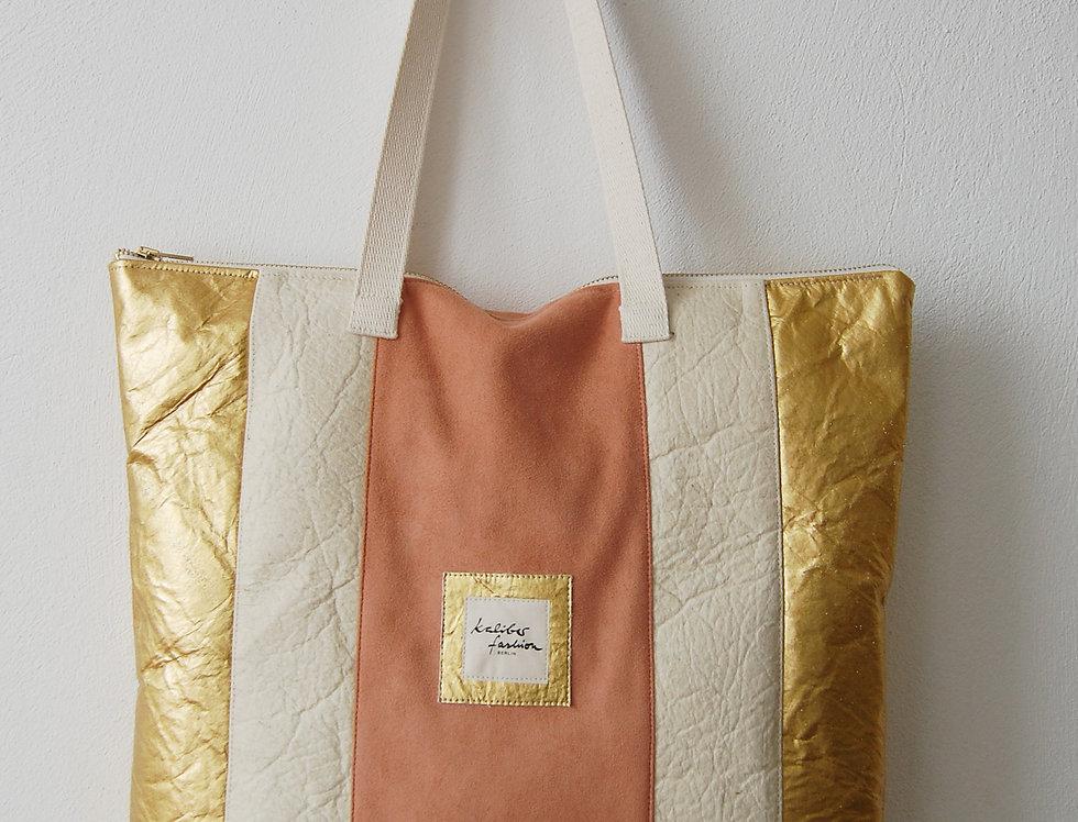 """Freizeit Tasche """"Trias"""" in Cremegold"""