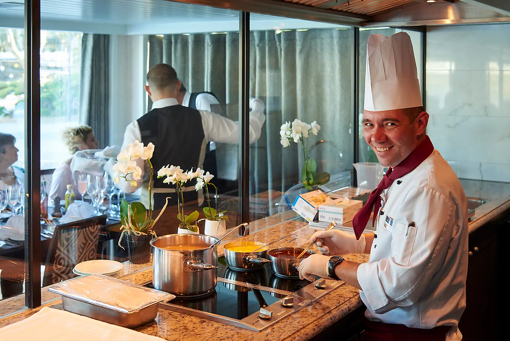 Chef's Table Experience with AmaWaterways
