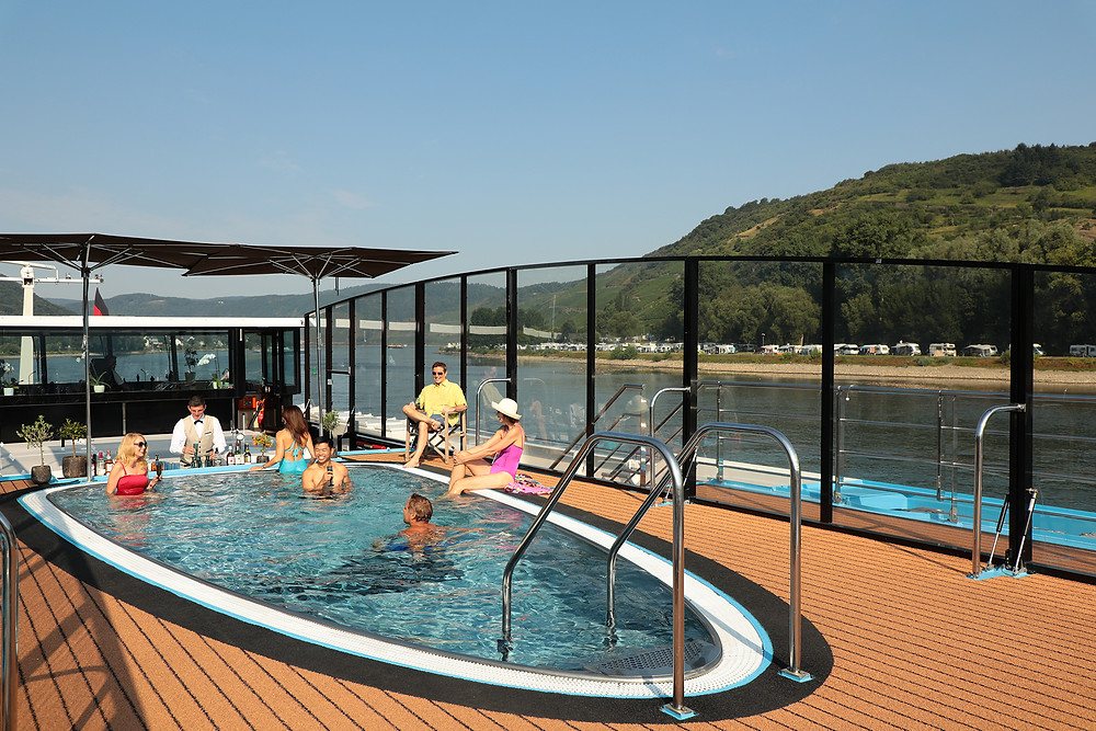 AmaWaterways Pool Deck