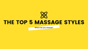 The Top 5 Massage Styles.