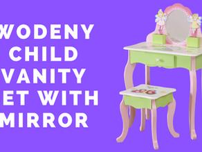Wodeny Children Vanity Set with Mirror