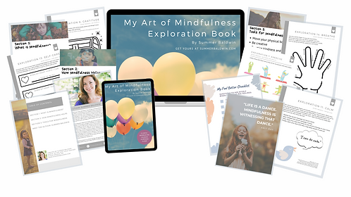 My Mindfulness Exploration Book for Kids