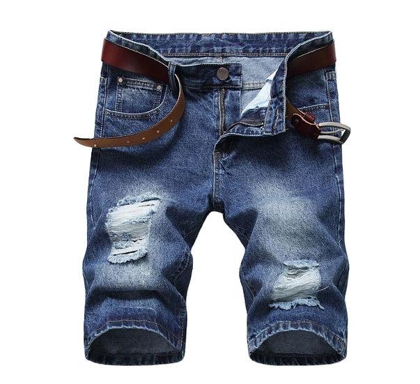 Denim-Jeans Kurzhose