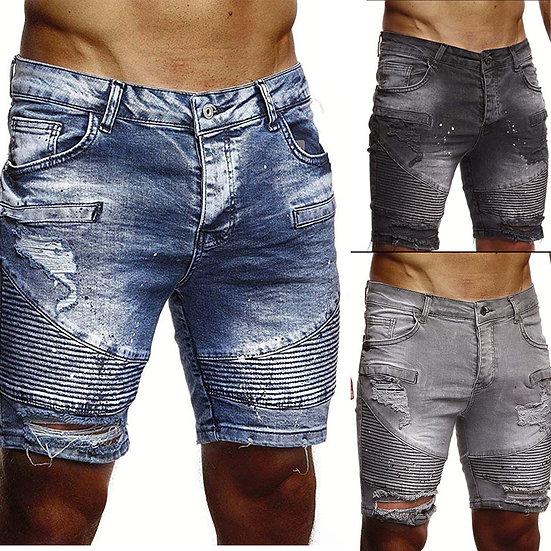 Jeans-Kurzhose