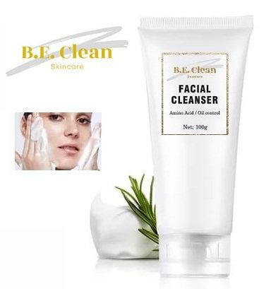 B. E. Clean Facial Cleanser