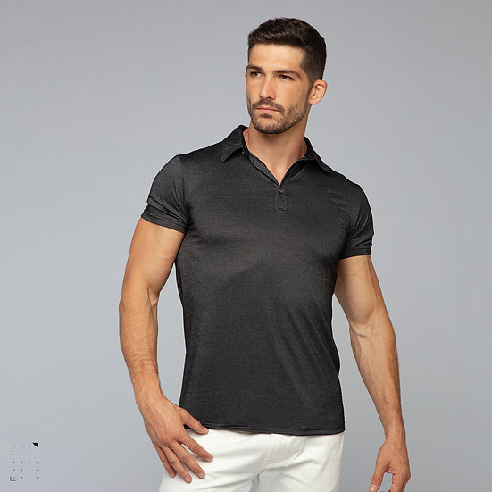 Carbon Fiber Polo-Shirt