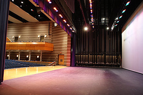 Fly Rail and Full Stage Lighting & Charlotte Performing Arts Center | Rental azcodes.com