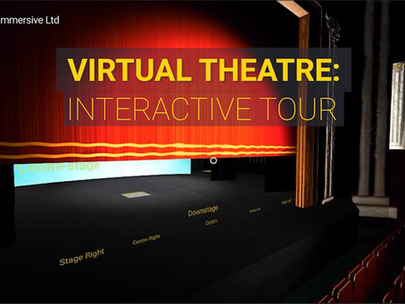New interactive virtual tour helps people stay connected to  the magic of theatre via their browser