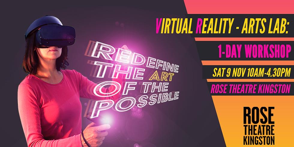 Virtual Reality Arts Lab: One-Day Workshop