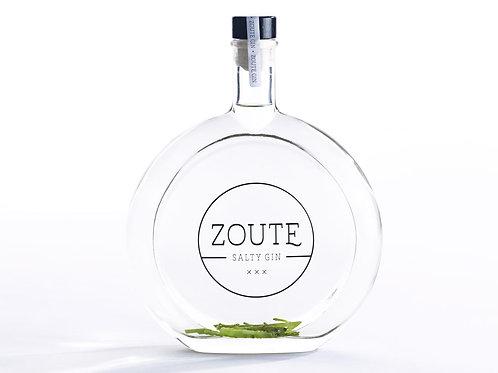 ZOUTE gin // bottle