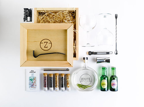 ZOUTE gin // deluxe box