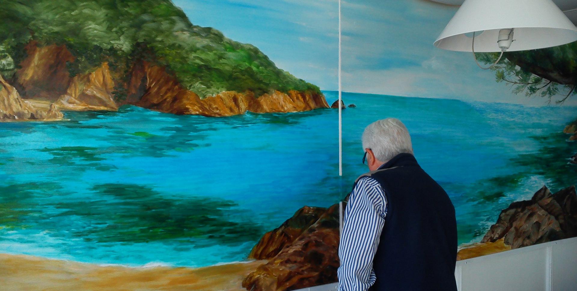 Proceso pintura mural
