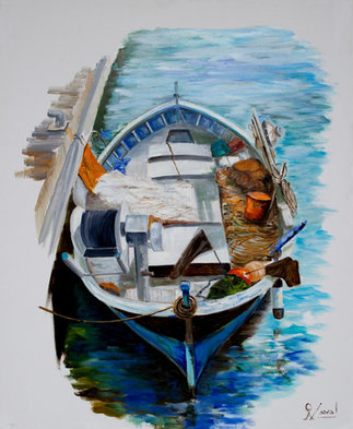 Barca en perspectiva