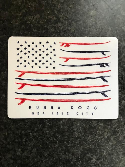 Surfin' USA Sticker