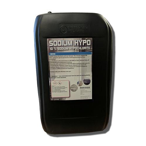 Sodium Hypochlorite (10%) - Hypo - Industrial Strength Bleach