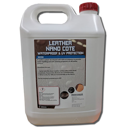 Leather Nano Cote - Leather Sealer & Protection