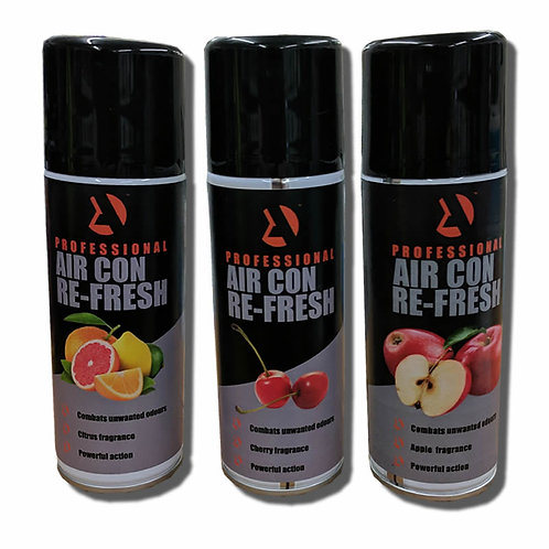 Air Conditioning Sanitiser & Refresher - Various Scents