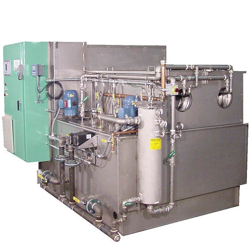 Dual Drum Aqueous Rotary Parts Washer Systems