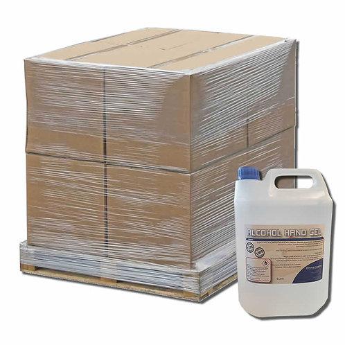 Special Offer - Pallet (160 x 5 Litres) Alcohol Hand Gel - Sanitiser Rub - 70%