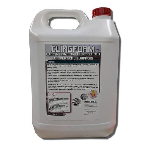 CLINGFOAM - High Foaming Alkaline Cleaner